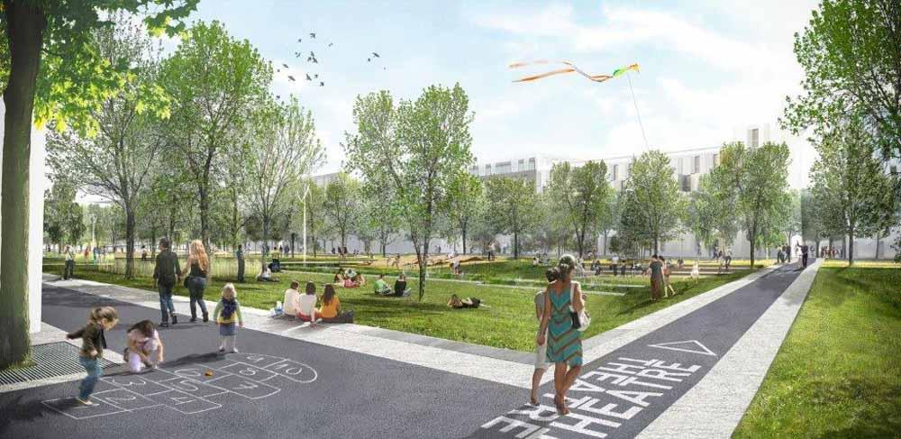Carri res centralit for Vert urbain maison de ville